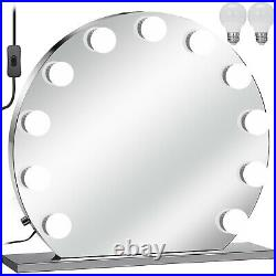 Beautify Lighted Makeup Vanity Mirror With 13x LED Dimmer Lights Hollywood Style
