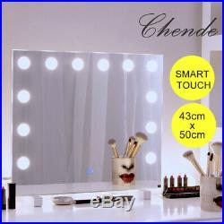 Chende Hollywood Vanity Mirror Lighted Makeup Mirror with 14 LED Dimmable Bulbs