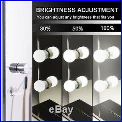 Hollywood Makeup Lighted Vanity Mirror Lights Bulb Dimmer Tabletop or Wall 23L