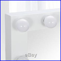 Hollywood Makeup Vanity Mirror with Light Bulb Stage Large Beauty Mirror Dimmer