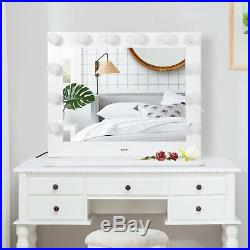 Vanity Mirror with Light Hollywood Makeup Lighted Mirror with Dimmer Free Bulbs